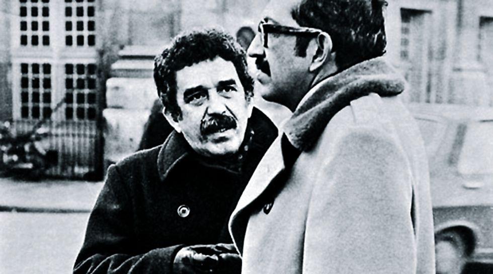 Gabriel García Márquez Plinio Apuleyo Mendoza Paris años 60