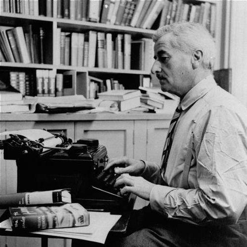 William Faulkner máquina de escribir