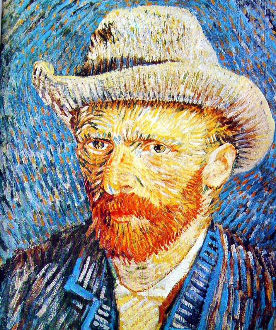 Van Gogh Autoretrato 1887