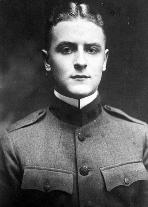 Francis Scott Fitzgerald en uniforme