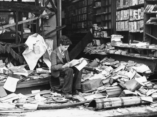 Librería Londres 1940
