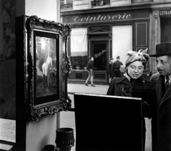 Robert-Doisneau Regard oblique