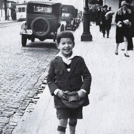 Álvaro Mutis niño
