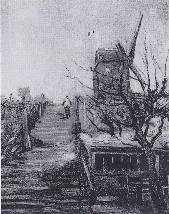 Van_Gogh Montmartre