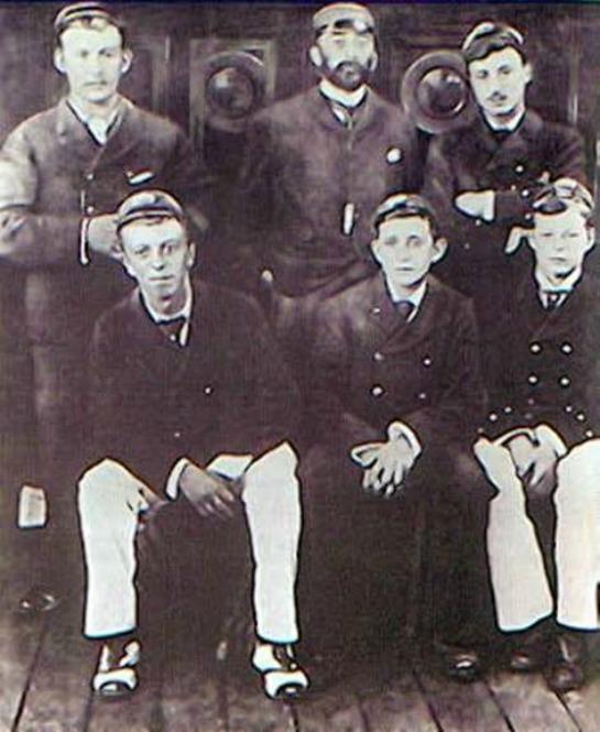 Un joven Joseph Conrad