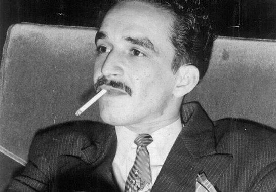un joven Gabriel García Márquez