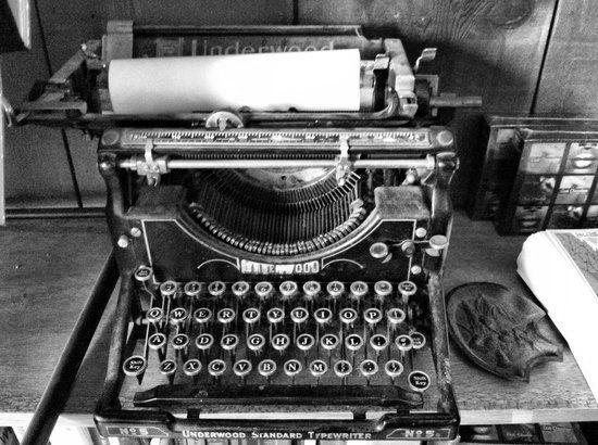 henry miller máquina de escribir