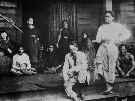 Robert-Louis-Stevenson-Samoa