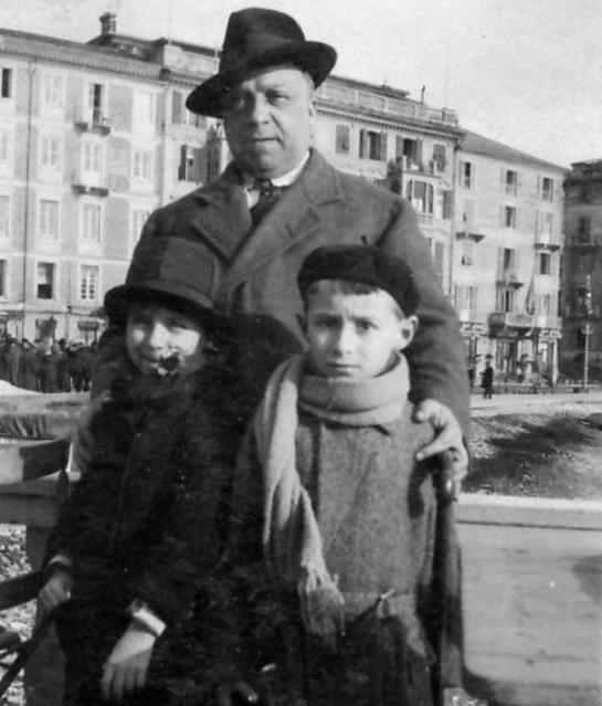 Primo Levi, Cesare Levi y Anna Maria Levi