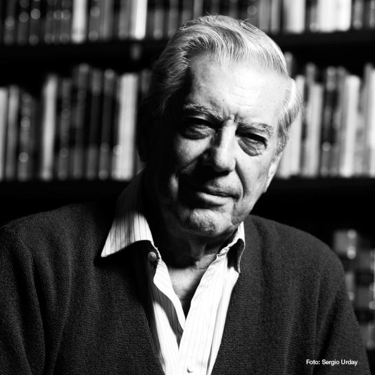 Vargas Llosa por Sergio Urday