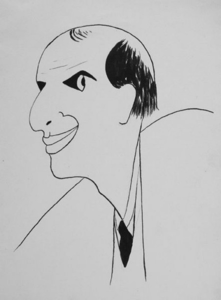 Marcel Schwob por Sacha Guitry
