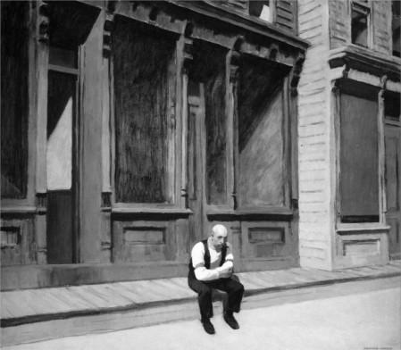 """""""Domingo"""", (1926), de Edward Hopper"""
