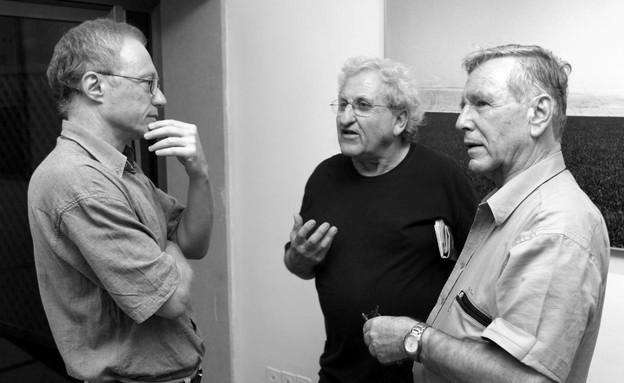 David Grossman, A. B. Yehoshua y Amos Oz