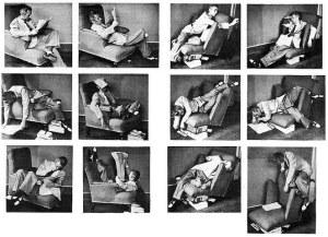 Ricerca della comodità in una poltrona scomoda, Bruno Munari