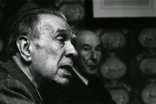 Jorge Luis Borges en el Premio Cervantes