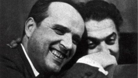 Nino Rota y Federico Fellini