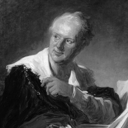 Diderot par Fragonard