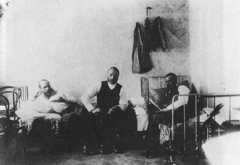 Dostoievski en la cárcel de Omsk
