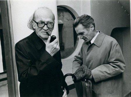 Mircea Eliade y Emil Cioran