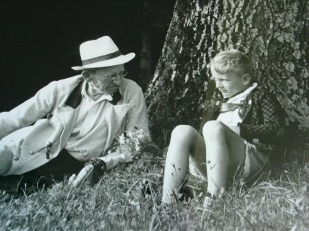 Johannes Freumbichler y Thomas Bernhard