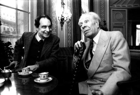 Italo Calvino y Jorge Luis Borges