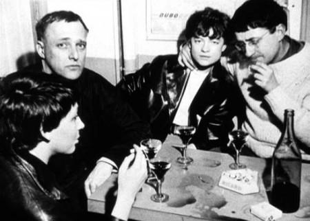 Situacionistas. Michèle Bernstein, Asger Jorn, Colette Caillard y Guy Debord.